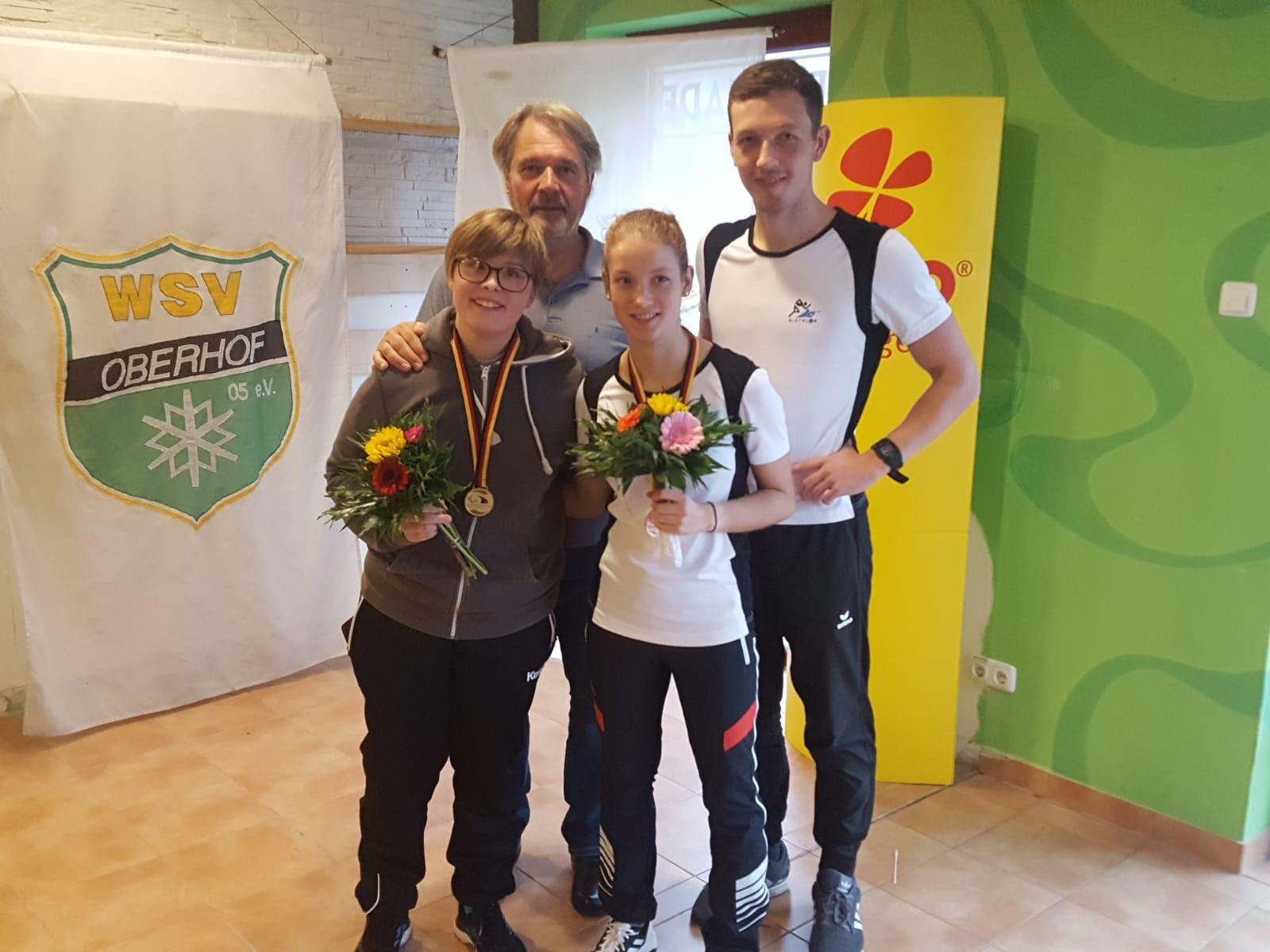 Erfolgreicher Saisoneinstieg für Johanna und Sally bei DM in Oberhof