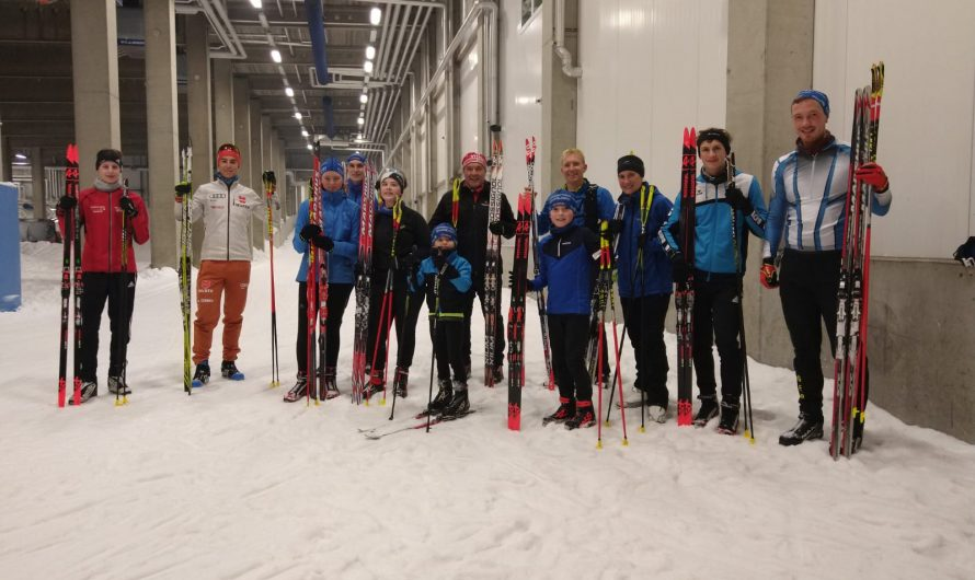 Trainingslager in Oberhof