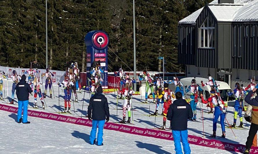 Starke Leistungen von Rieke DeMaeyer bei der Biathlon-EM